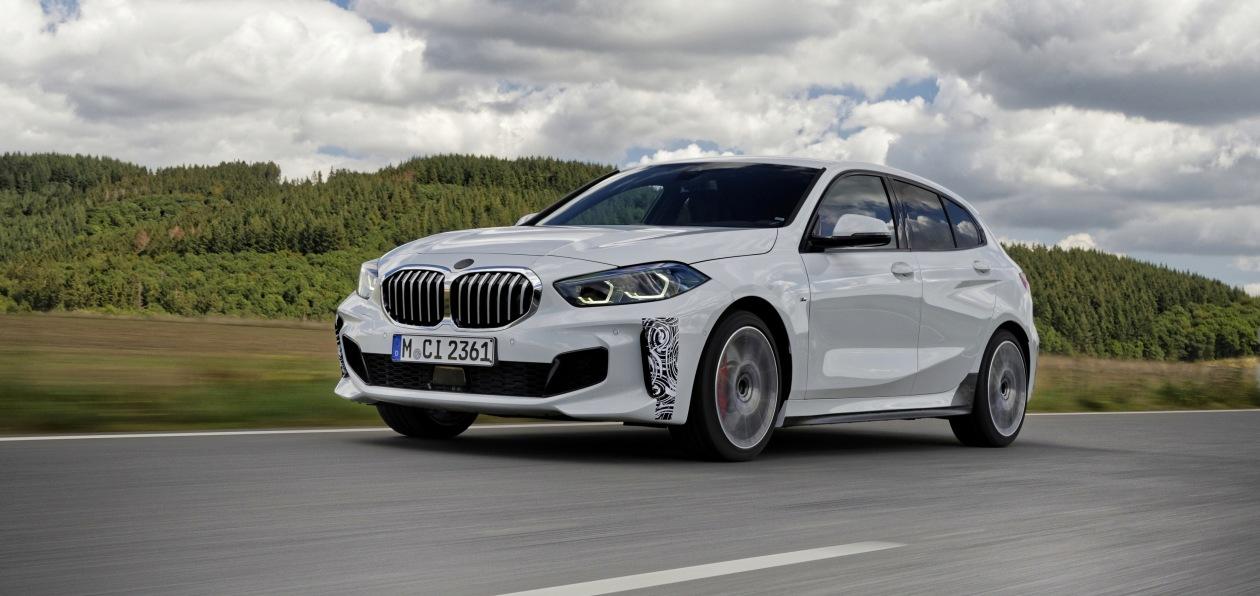 BMW тестирует новую версию модели 1 Series