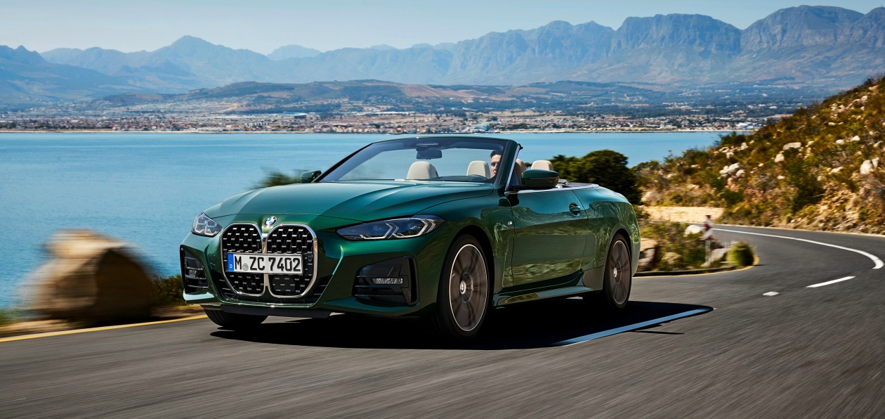 BMW показал новый кабриолет 4 Series