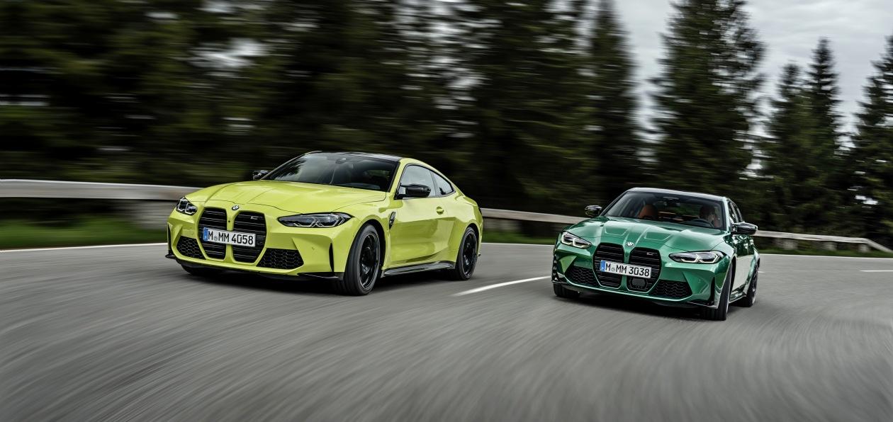 Новые BMW M3 и M4: фото, характеристики и цены в рублях