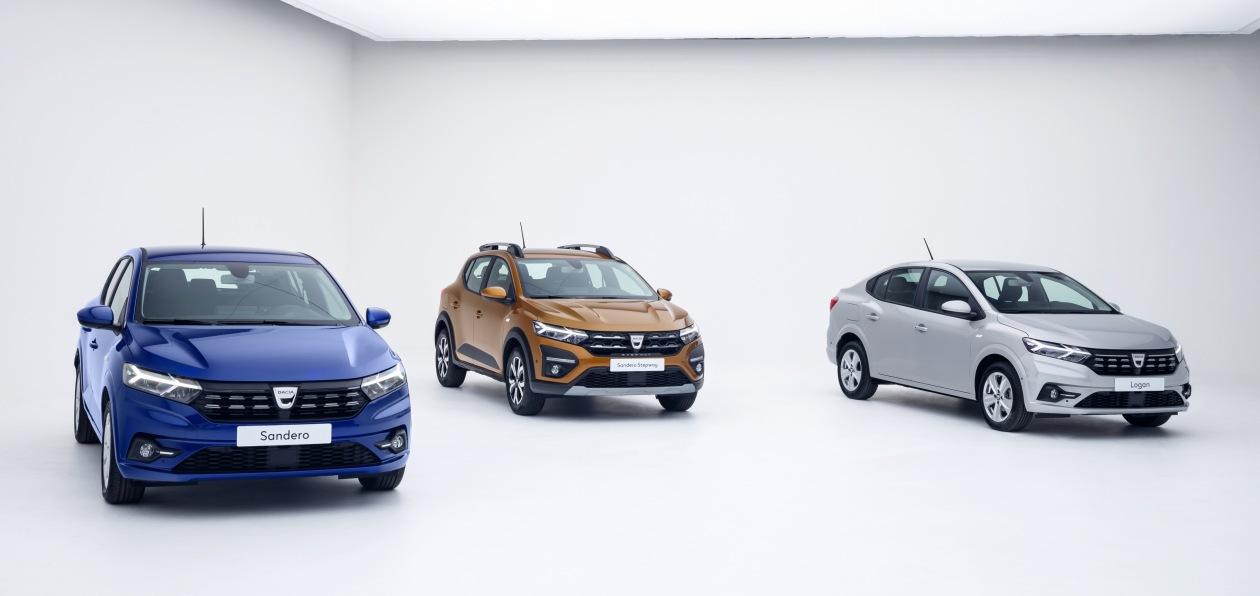 Renault представил новые Dacia Logan и Sandero