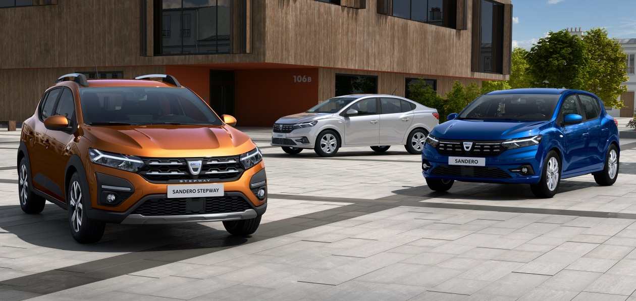 Группа Renault анонсировала премьеру новых Logan и Sandero