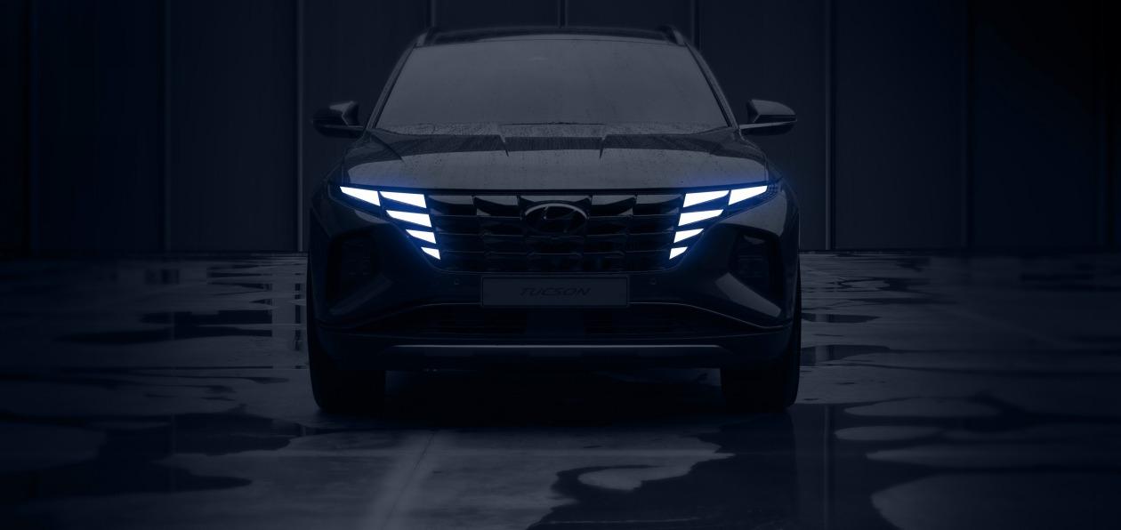 Hyundai показал, как будет выглядеть новый Tucson