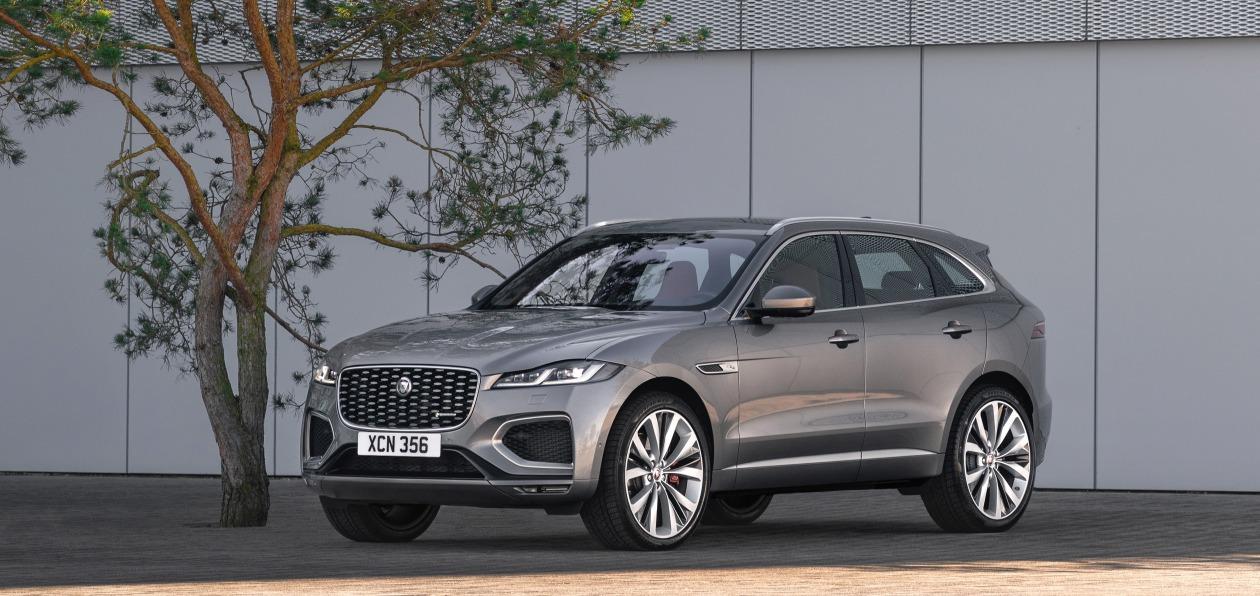 Jaguar обновил кроссовер F-Pace