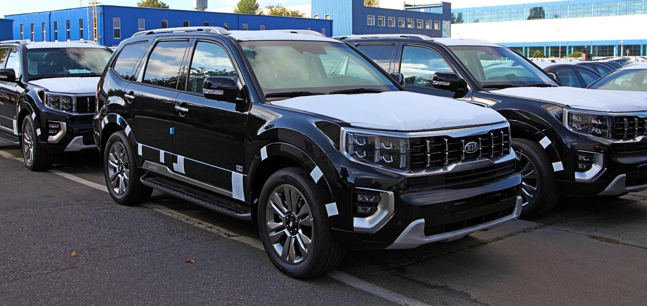 Новый Kia Mohave встал на конвейер «Автотора»