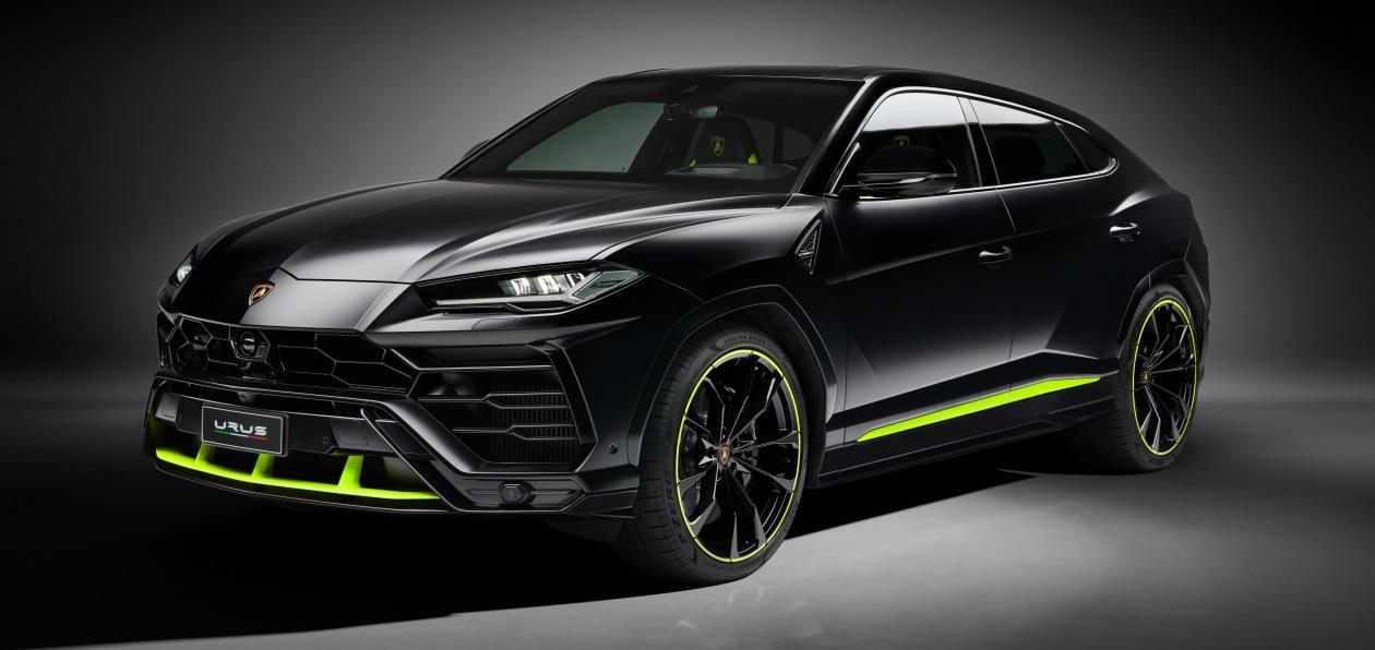 Lamborghini представила Urus Graphite Capsule