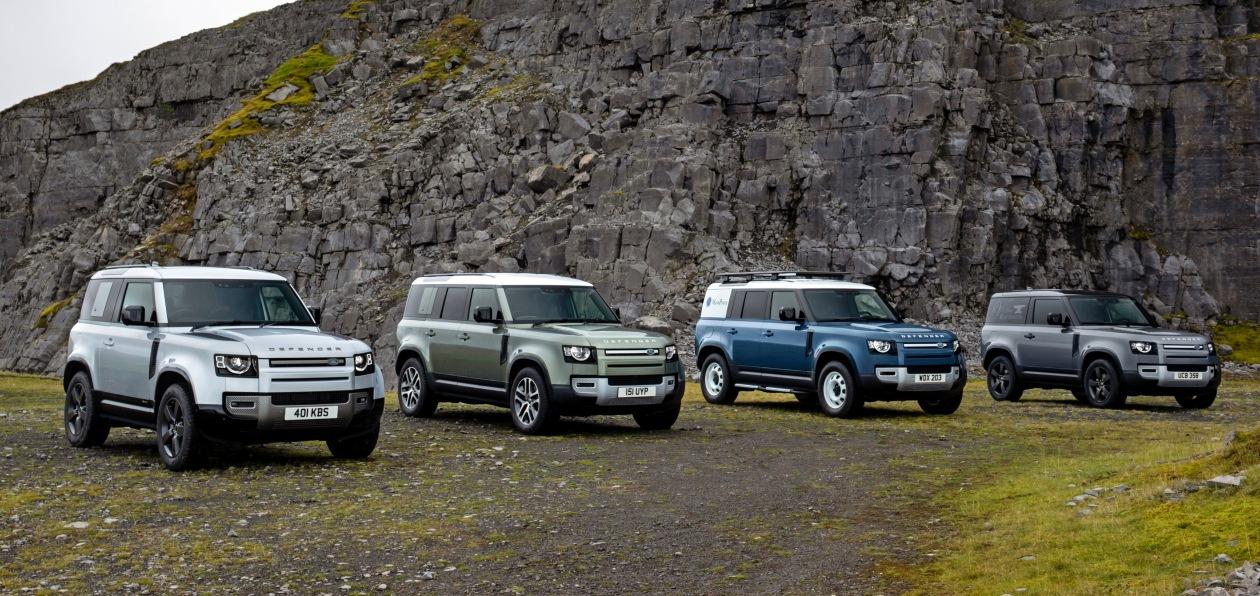 Land Rover расширил гамму модификаций нового Defender
