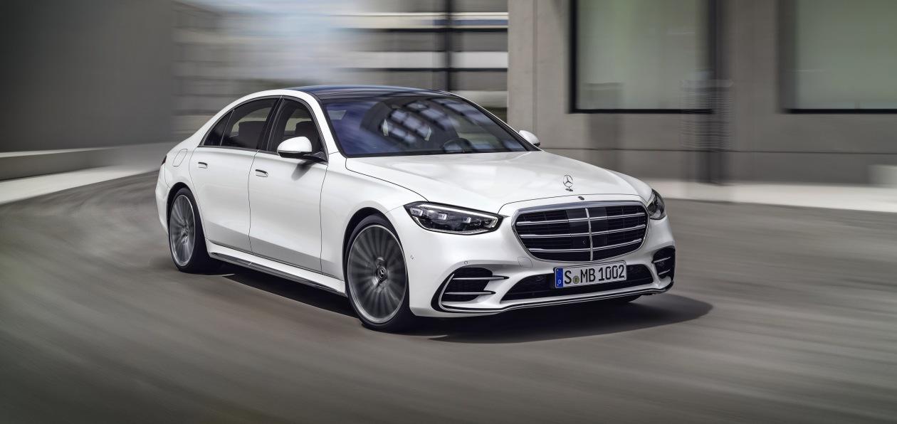Mercedes представил новый S-Class
