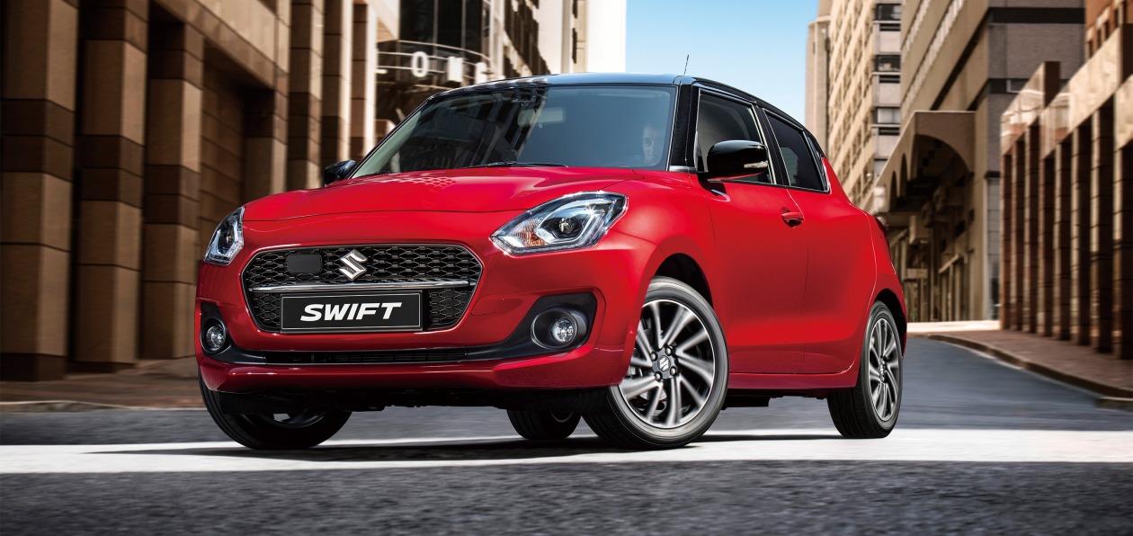 Suzuki представил в Европе обновленный Swift