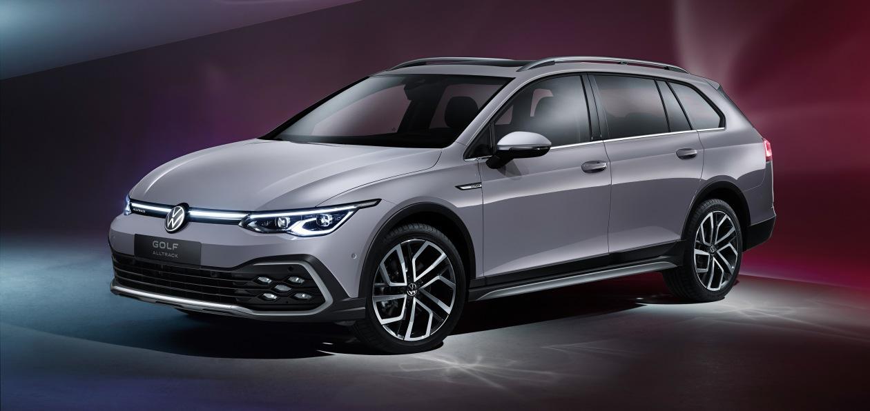 Volkswagen показал новый Golf универсал