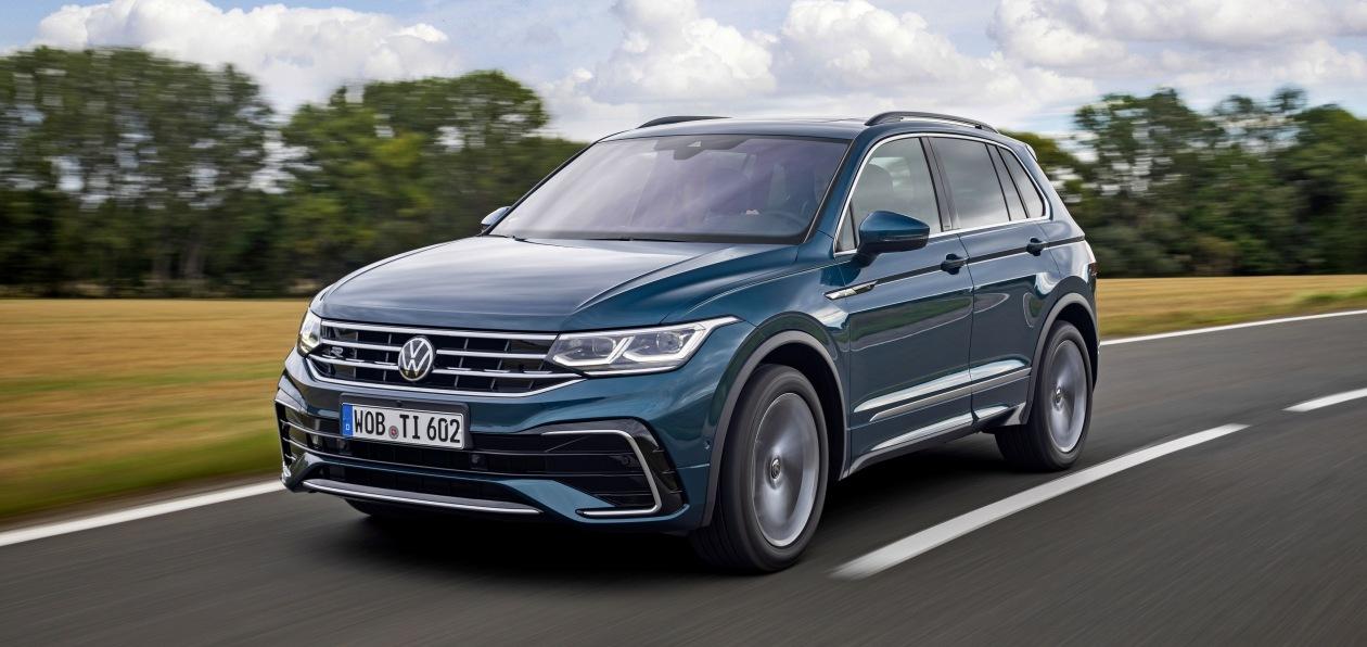 В Россию едет обновленный Volkswagen Tiguan