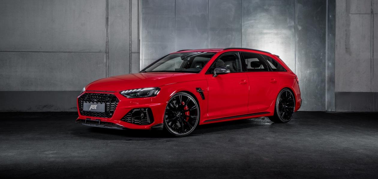 ABT доработал новый Audi RS 4 Avant