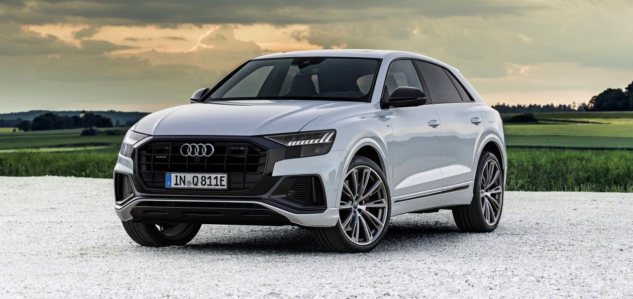 Audi Q8 стал «подключаемым гибридом»