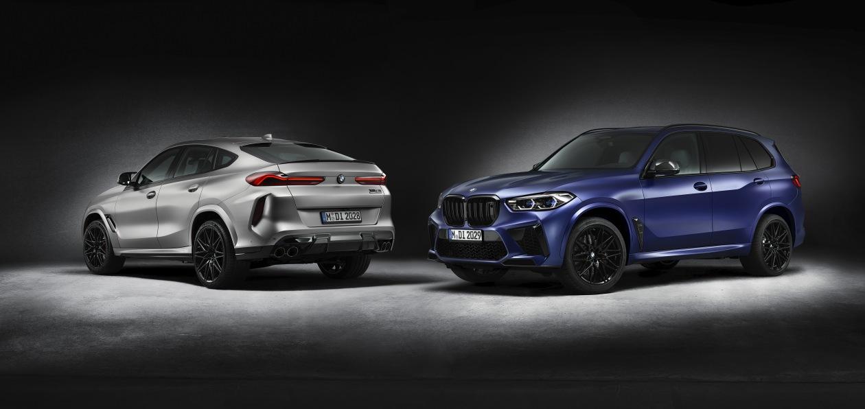 Топ-версии новых BMW X5 M и X6 M стали доступны в новой спецверсии