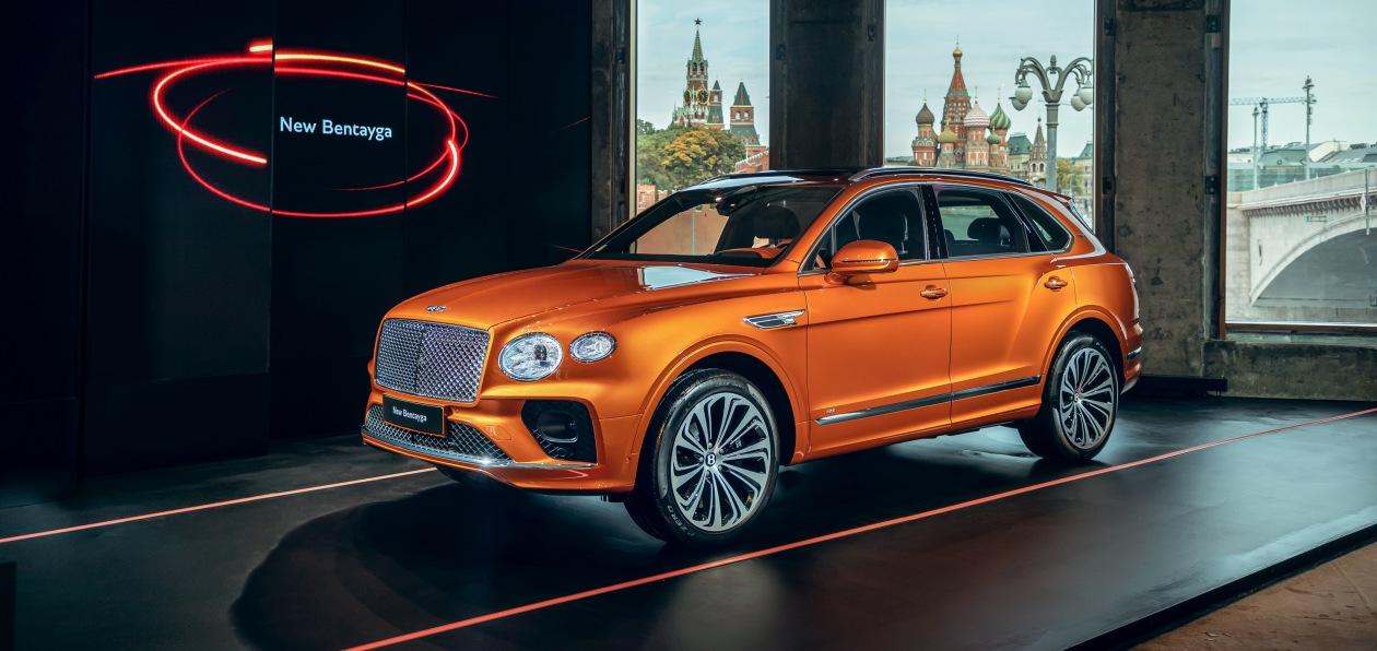 Новый Bentley Bentayga «доехал» до России