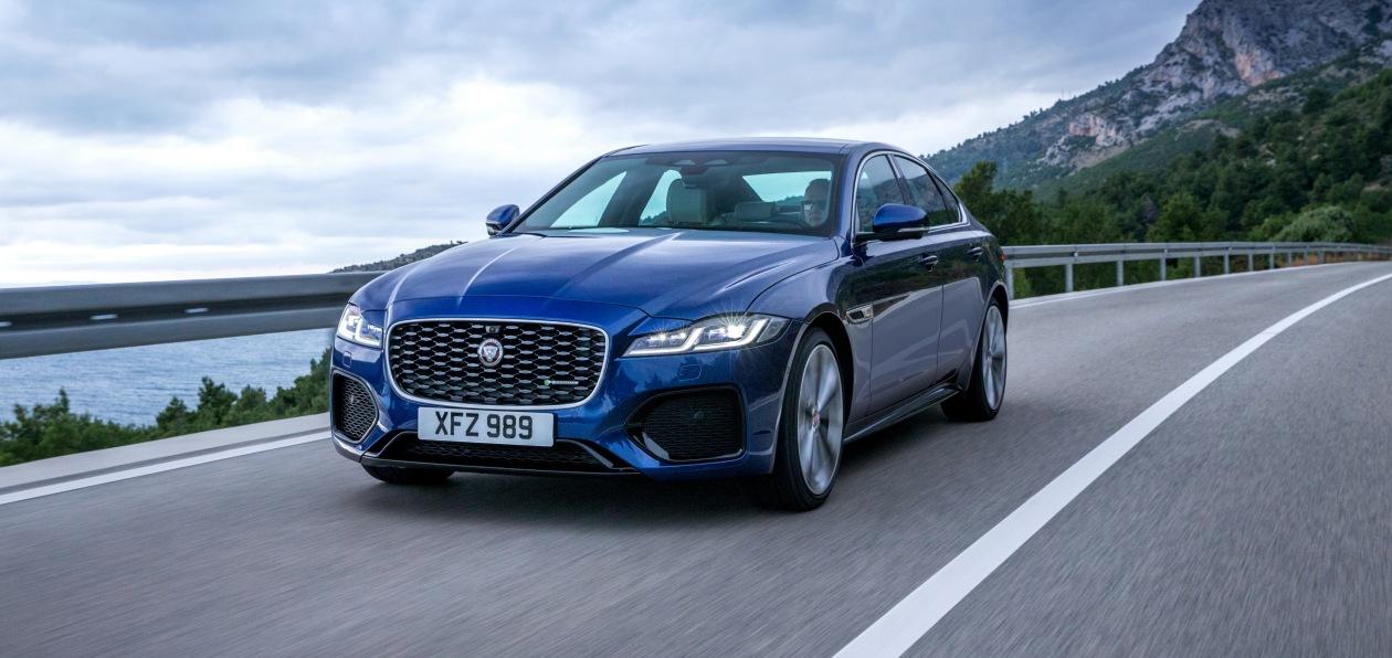 Jaguar обновил модель XF
