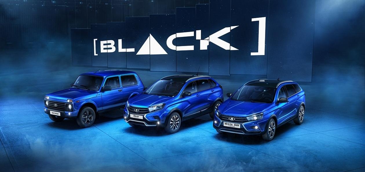 Lada 4x4 Urban и XRAY Cross стали доступны в «черной» спецверсии