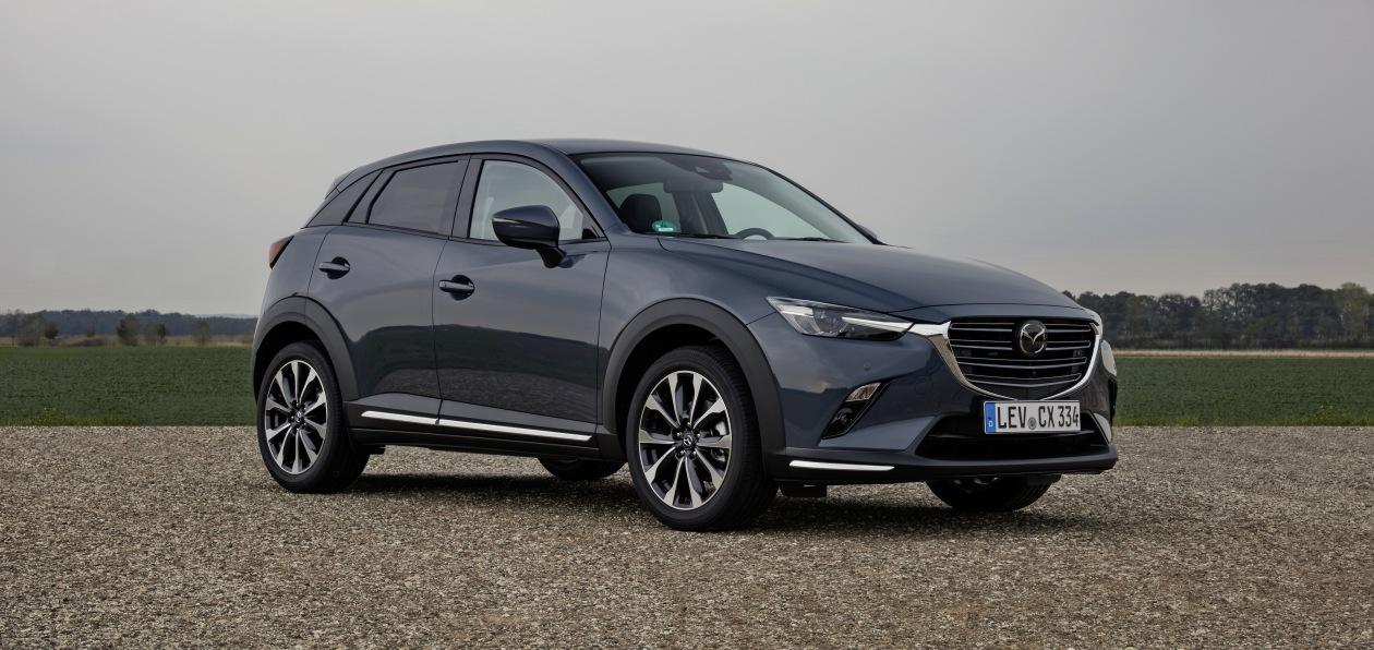 Mazda обновила европейскую версию CX-3