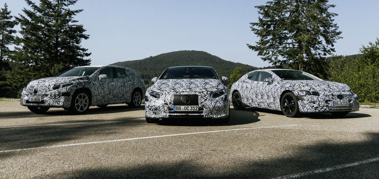 Mercedes анонсировал планы по электрификации модельного ряда