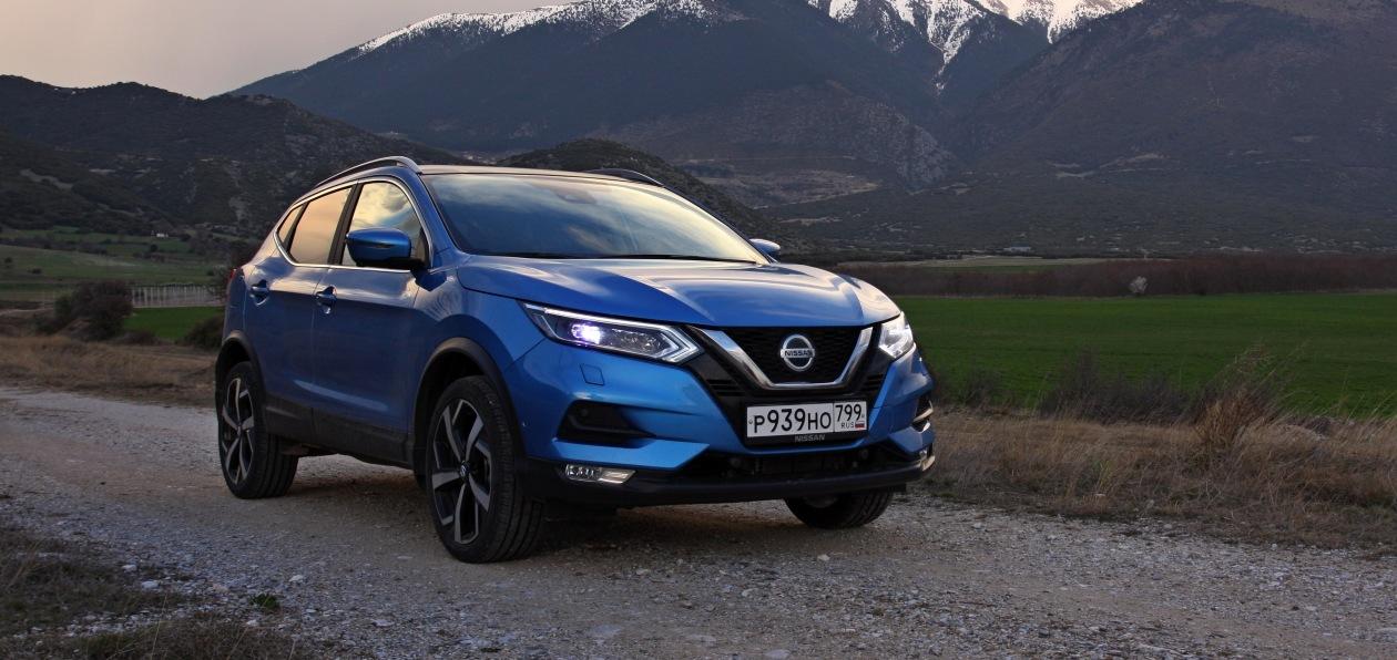 Nissan Qashqai 2020 модельного года доступен для заказа в России
