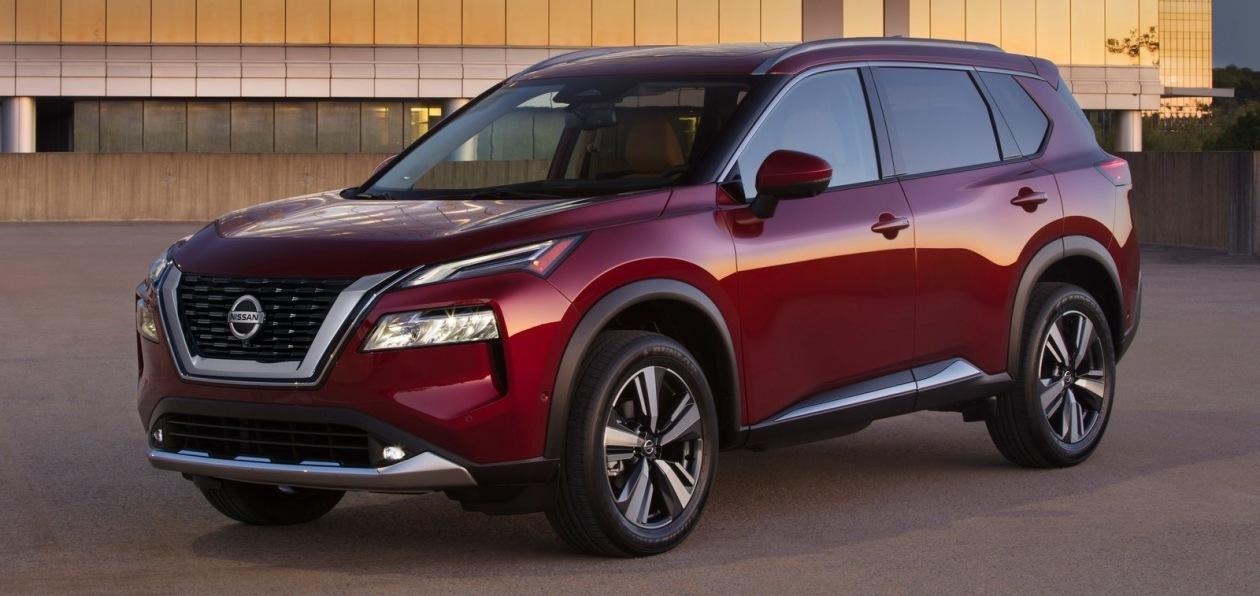Nissan запатентовал в России дизайн нового X-Trail