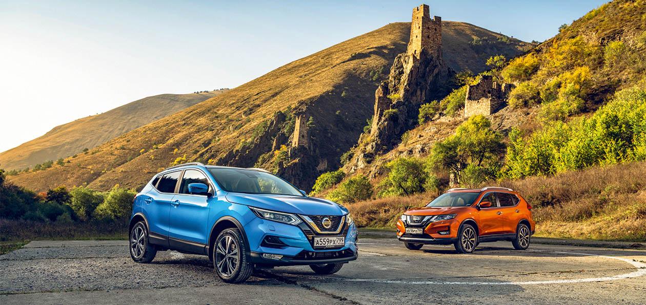 Тест-драйв обновленных Nissan Qashqai и X-Trail: четырехголовые