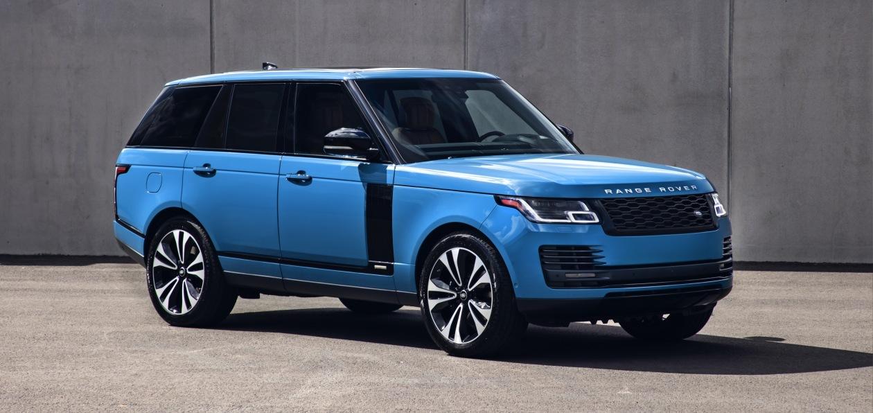 Новый Range Rover в юбилейной спецверсии подорожал на пути в Россию
