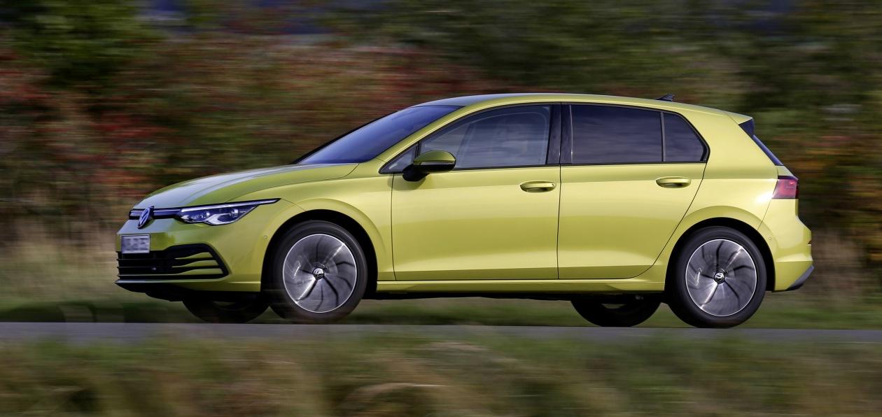 Новый Volkswagen Golf «поехал» на природном газе
