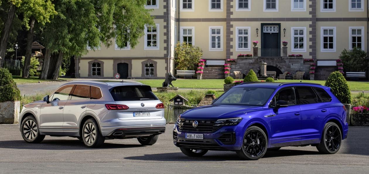 Volkswagen начал принимать заказы на гибридные версии нового Touareg