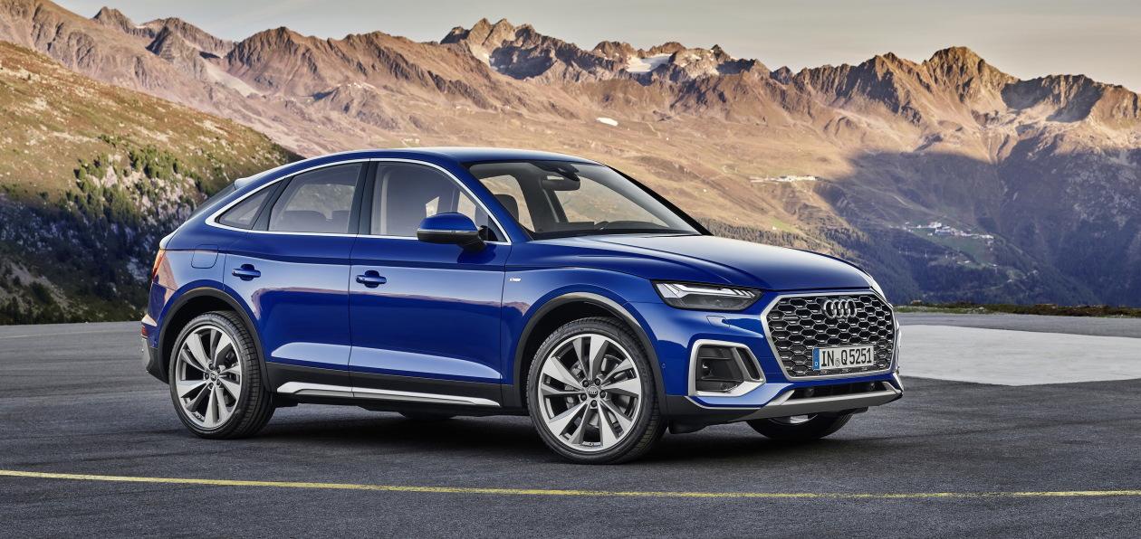 Audi Q5 получил купеобразную версию