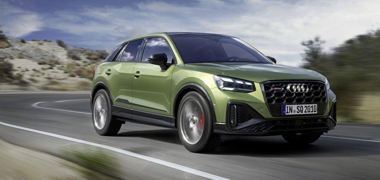 Audi показала обновленный SQ2