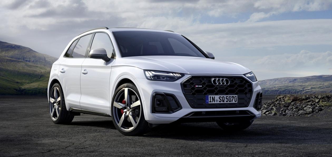 Audi SQ5 TDI обновился и получил модернизированный двигатель