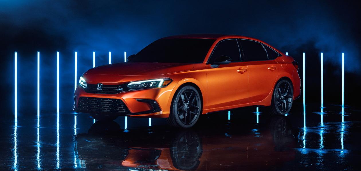 Honda показала, как будет выглядеть новый Civic