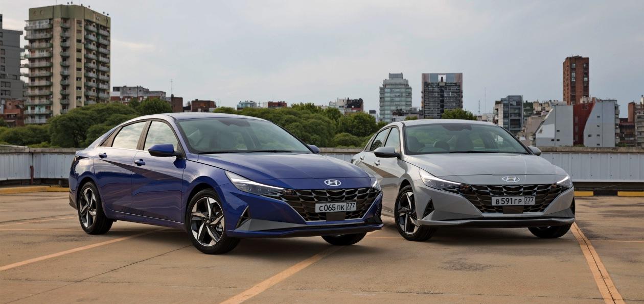 Hyundai «рассекретил» новую Elantra для России