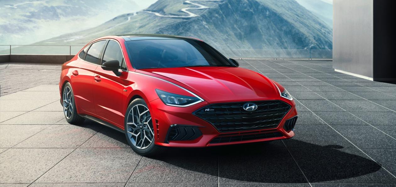 Hyundai представил спортивную версию новой Sonata