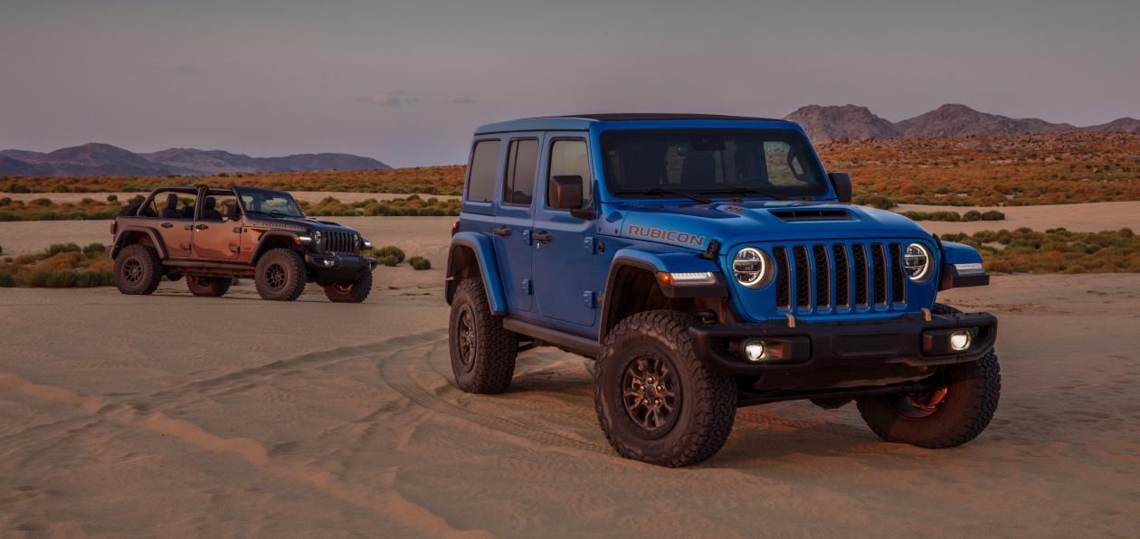 Новый Jeep Wrangler получил мотор V8