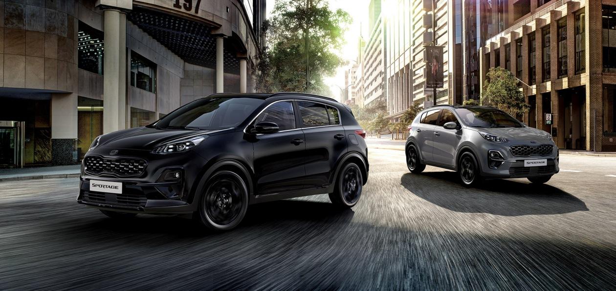 Kia Sportage получил «черную» спецверсию