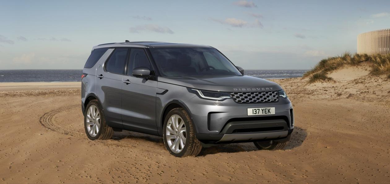 Land Rover показал обновленный Discovery V