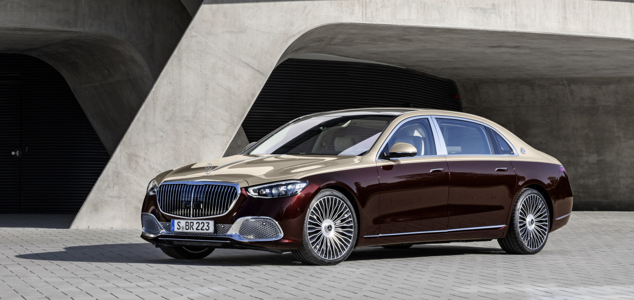 Mercedes представил новый Maybach S-Class