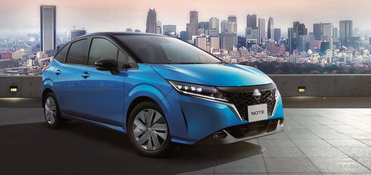 Nissan «электрифицировал» новый Note