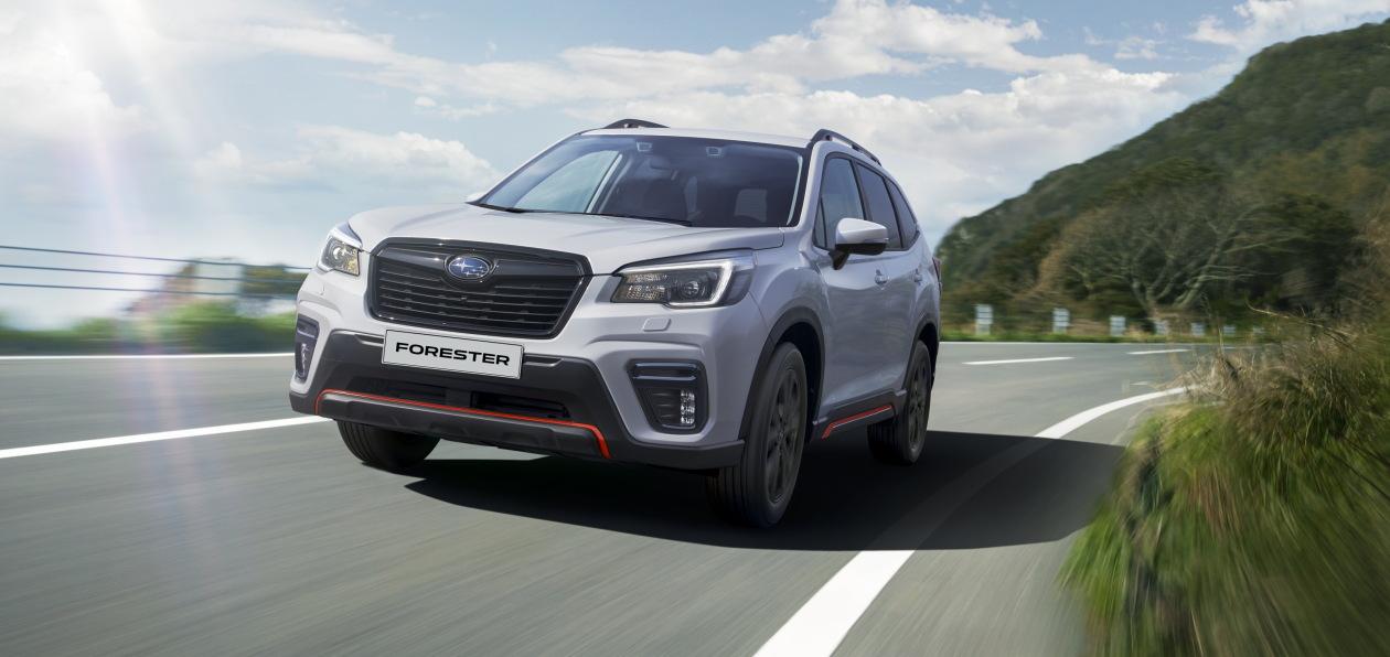 Subaru Forester Sport доехал до России