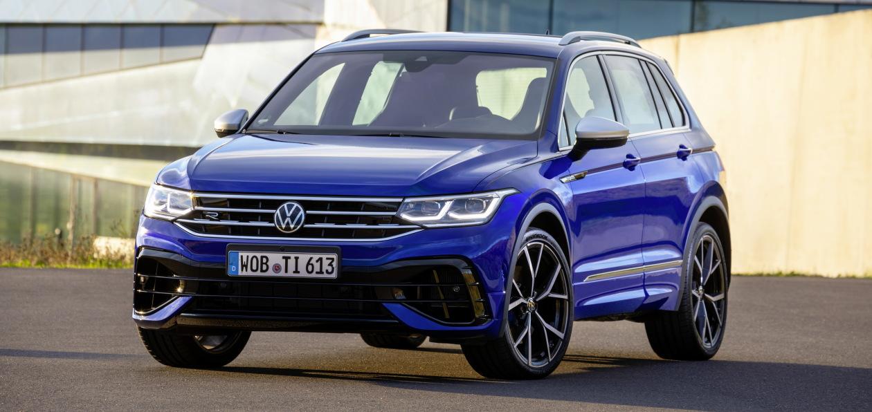 Volkswagen начал принимать заказы на новый Tiguan R