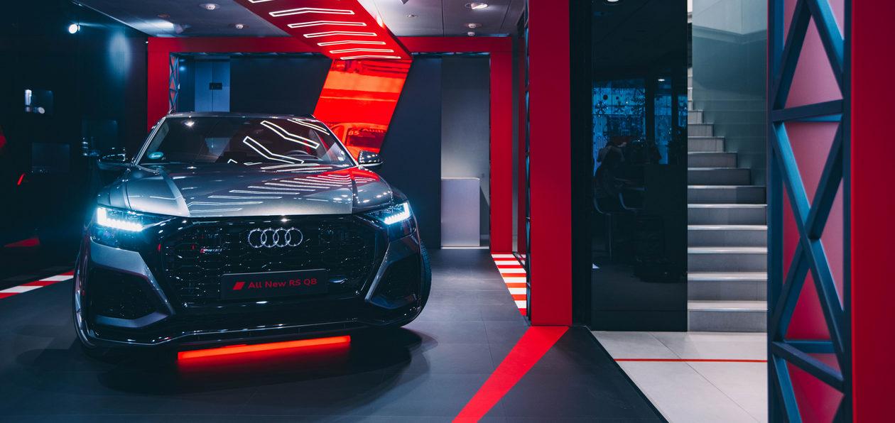 Audi представила в Москве новую линейку спорткаров — RS6 Avant, RS7 Sportback и RS Q8
