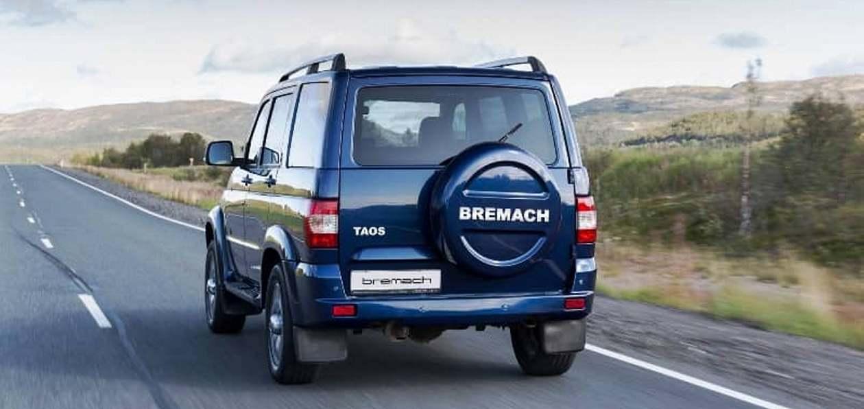 УАЗ Патриот сменил имя на Bremach Taos
