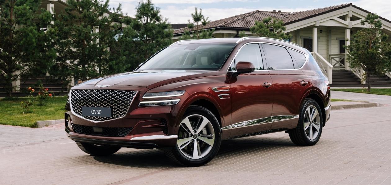 Genesis объявил цены на седан и кроссовер в России