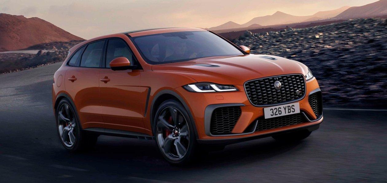 Jaguar представил обновленный F-Pace SVR