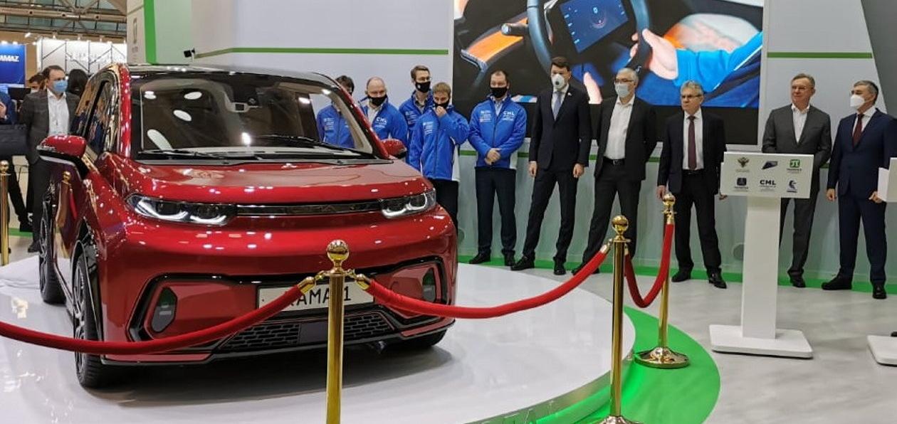 «КАМАЗ» представил электромобиль «Кама-1»