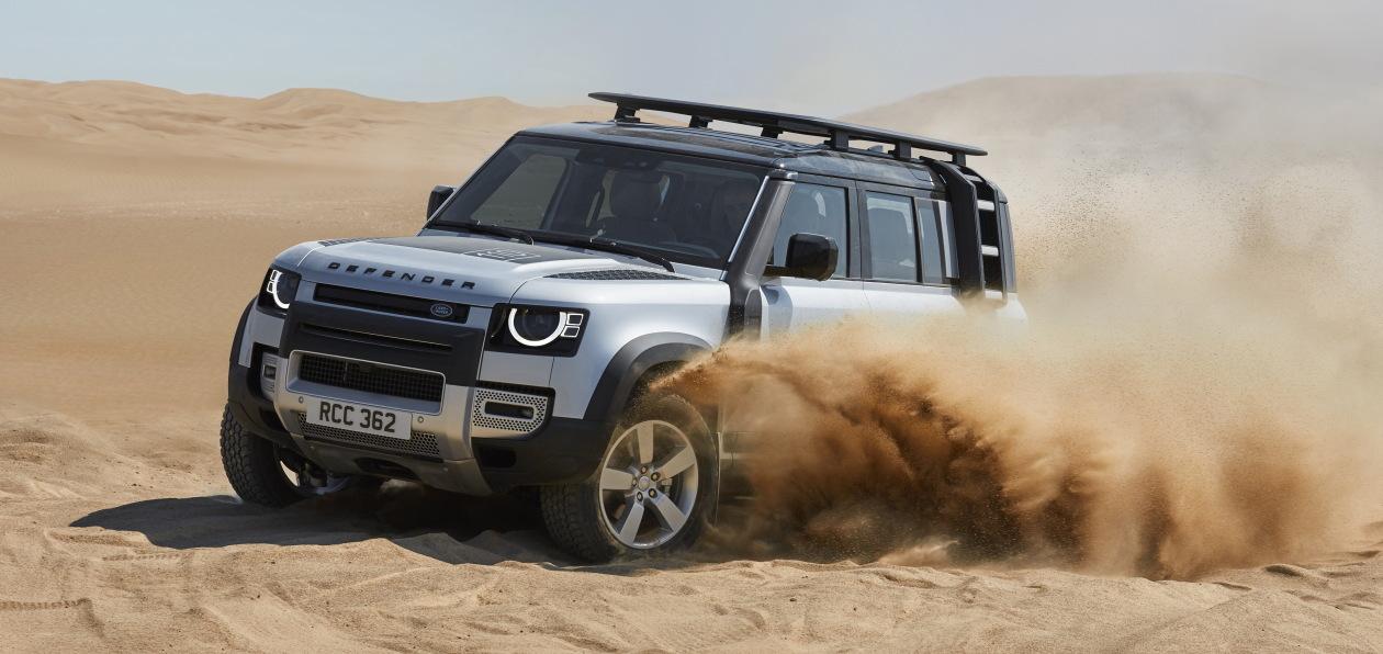 Новый Land Rover Defender получит шины Pirelli