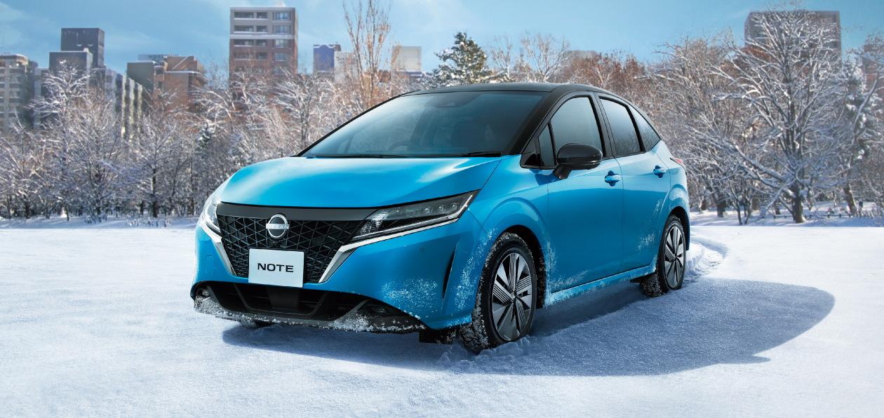Nissan показал полноприводную версию нового Note