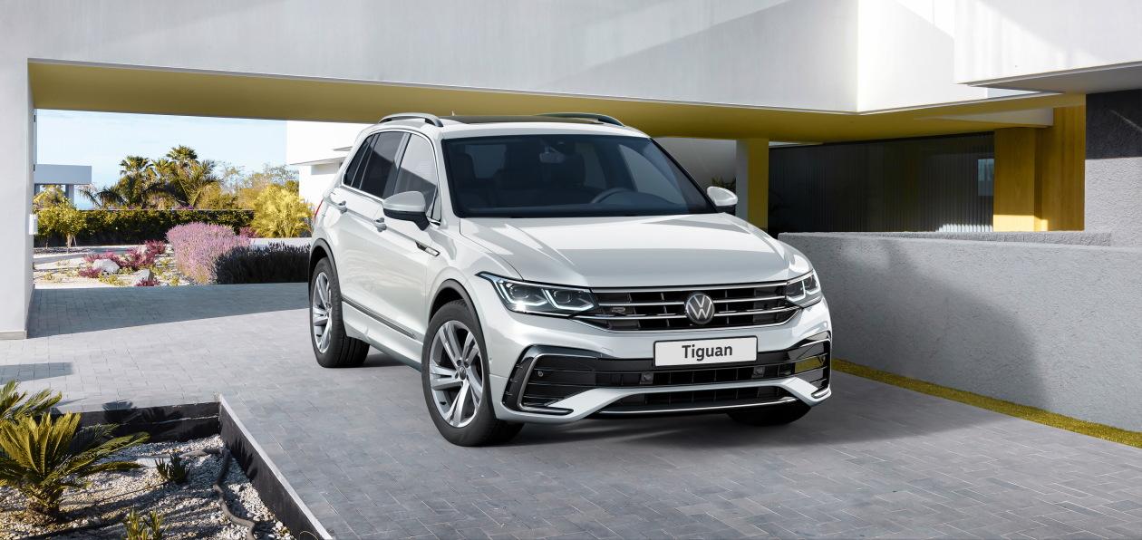 Volkswagen оценил в рублях новый Tiguan