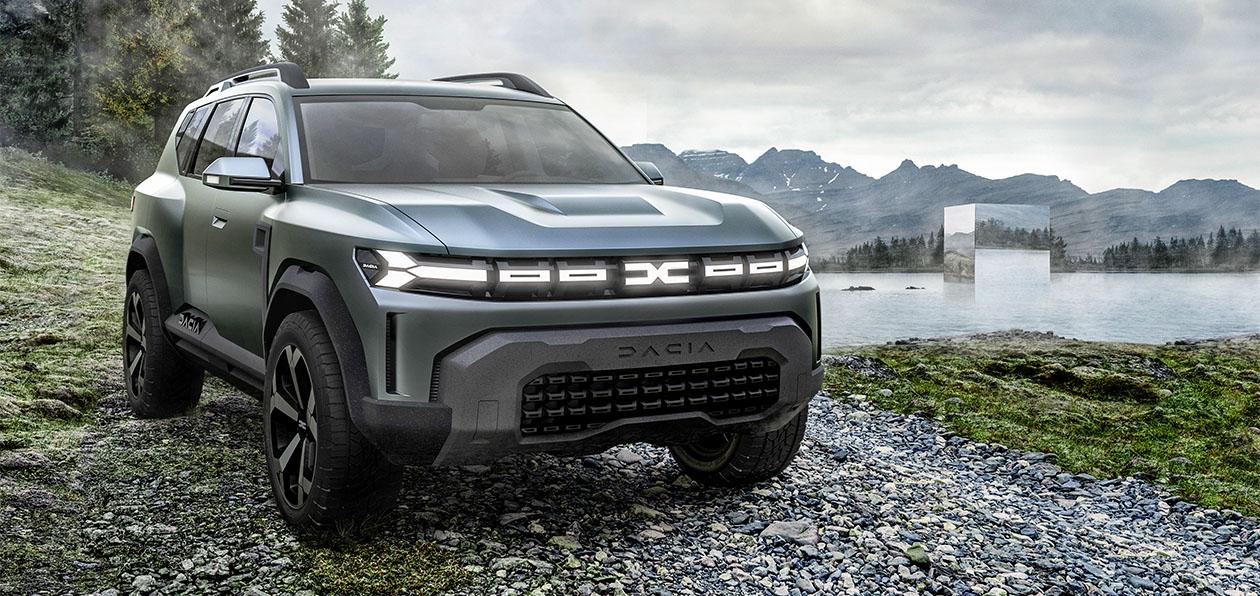 Группа Renault показала прототип нового кроссовера Dacia-Lada